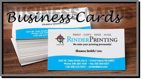 Rinder printing grand island ne a well designed business card can be the most important part of marketing yourself from a basic black and white business card to an impressive reheart Images
